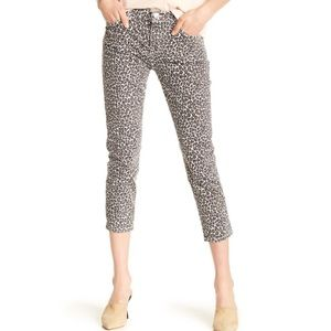 Current/Elliott The Fling Cropped Skinny Jeans NWT